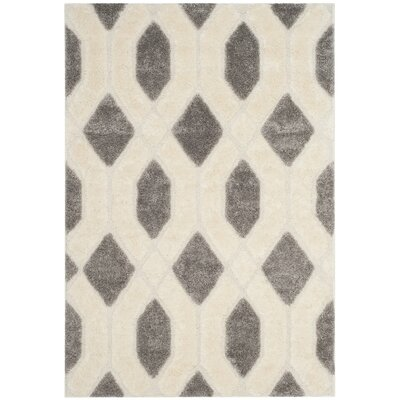 Archway Gray Area Rug Rug Size: Rectangle 51 x 76