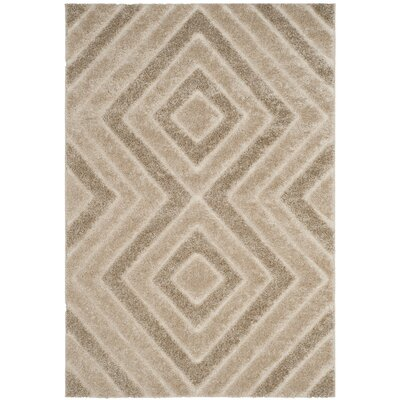 Wideman Beige Area Rug Rug Size: Runner 2 x 8