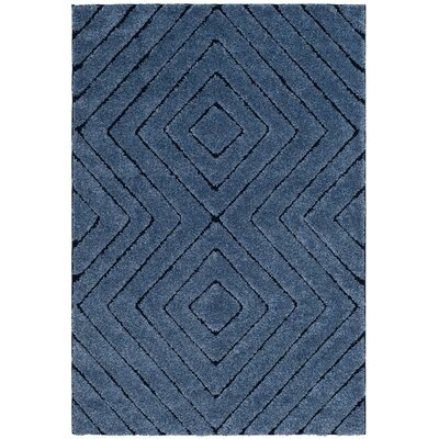 Wideman Navy Area Rug Rug Size: Rectangle 51 x 76