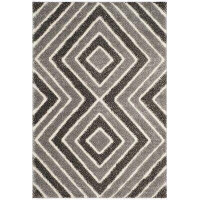 Wideman Taupe Area Rug Rug Size: 51 x 76