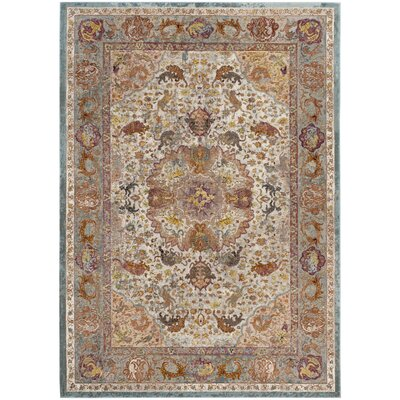 Andy Beige Area Rug Rug Size: Rectangle 51 x 76
