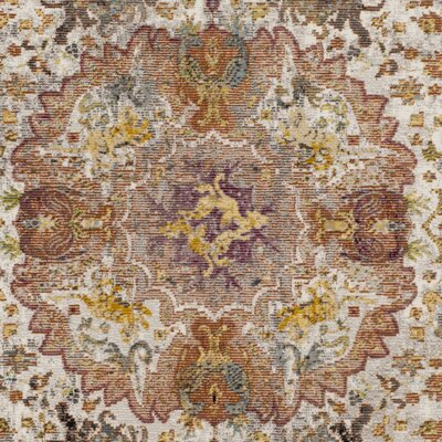 Andy Beige Area Rug Rug Size: 8' x 10'