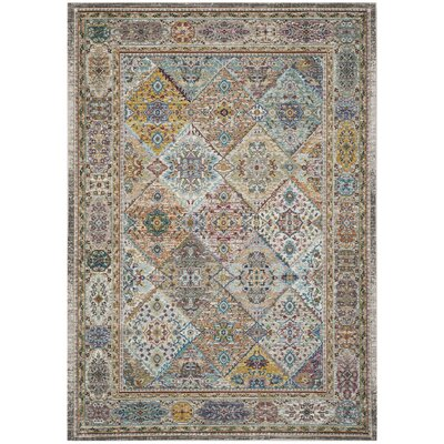 Andy Cream Indoor Area Rug Rug Size: Rectangle 4 x 6
