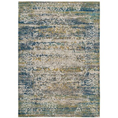 Andy Cream Area Rug Rug Size: Rectangle 4 x 6