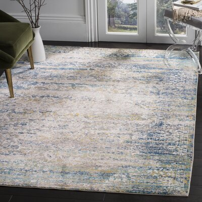 Andy Cream Area Rug Rug Size: 4 x 6