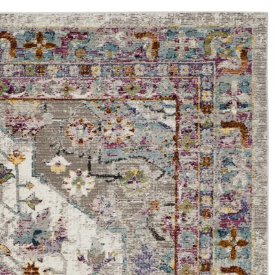 Andy Cream Area Rug Rug Size: 8 x 10