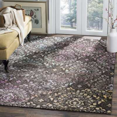 Andy Brown Area Rug Rug Size: 9 x 12