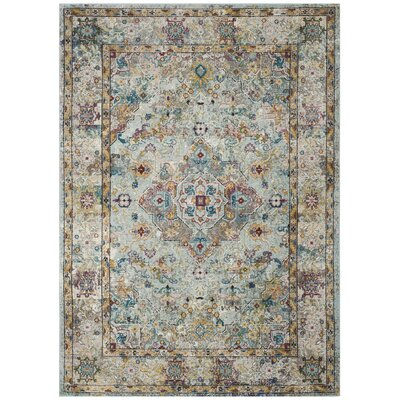 Andy Beige Area Rug Rug Size: Square 65