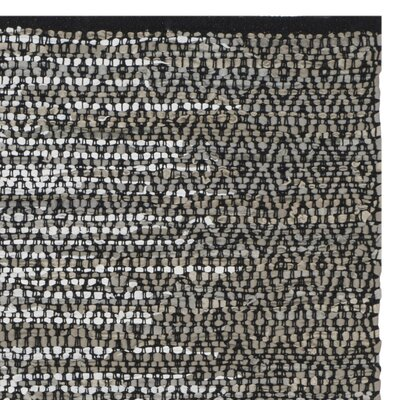Erik Hand-Woven Light Grey/Grey Area Rug Rug Size: Rectangle 23 x 6