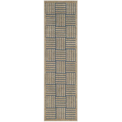 Zaniyah Brown Indoor/Outdoor Area Rug Rug Size: 9 x 12