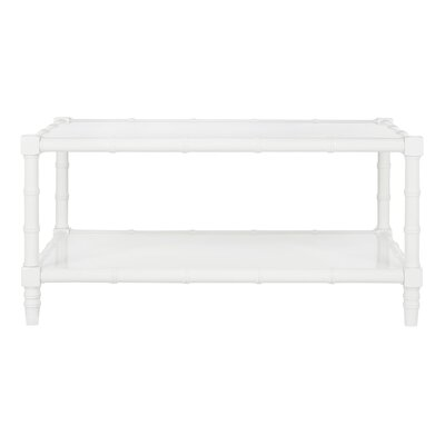Theodis Coffee Table Finish: White