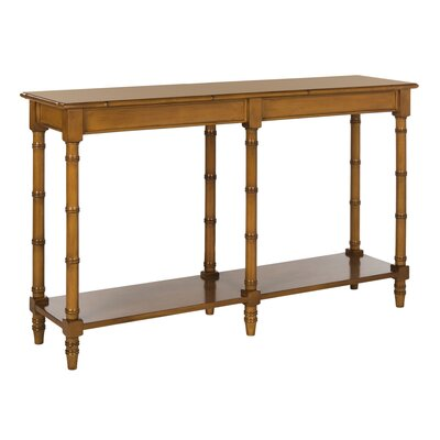 Theodis Console Table Finish: Brown