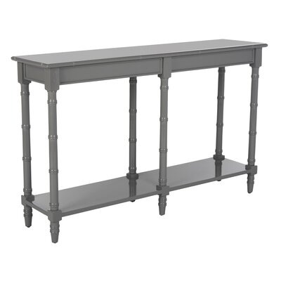 Theodis Console Table Finish: Gray