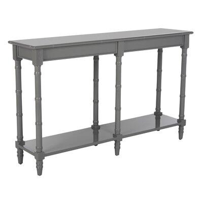 Theodis Console Table Finish: Gray