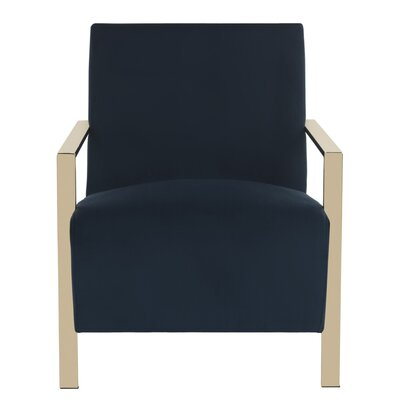 Askham Arm Chair Upholstery: Navy