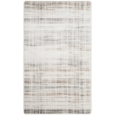 Lokendra Gray Area Rug Rug Size: Rectangle 4 x 6