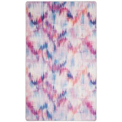 Janiyah Purple Area Rug Rug Size: Rectangle 4 x 6