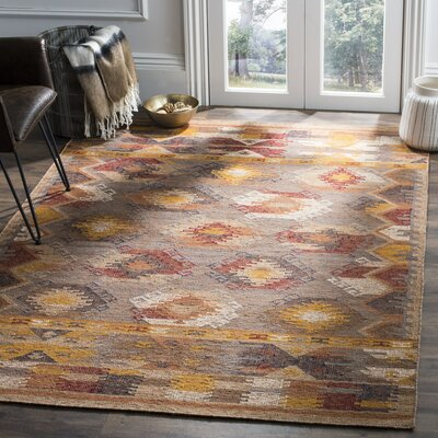 Elan Hand Woven Cotton Cream Area Rug Rug Size: Rectangle 8 x 10