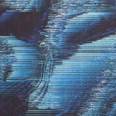 Ellesmere Blue Area Rug Rug Size: 51 x 76