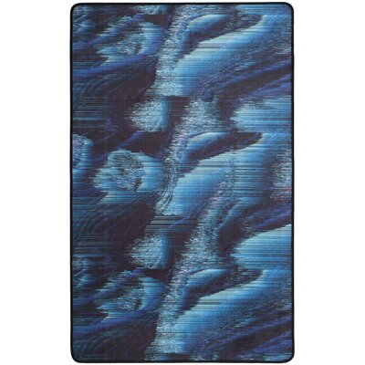 Ellesmere Blue Area Rug Rug Size: Rectangle 3 x 5