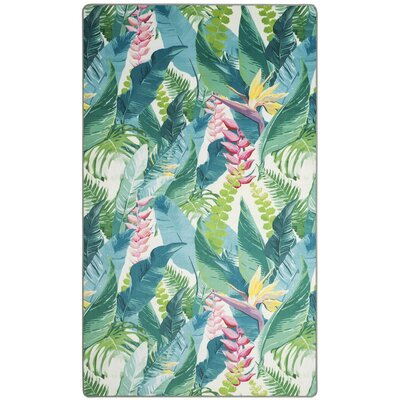 Portage Green Area Rug Rug Size: Rectangle 4 x 6