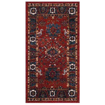 Shah Red Area Rug