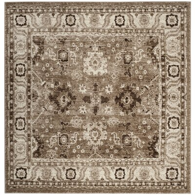 Asheville Taupe Area Rug Rug Size: Square 67