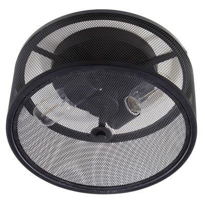 Renato 2-Light Flush Mount