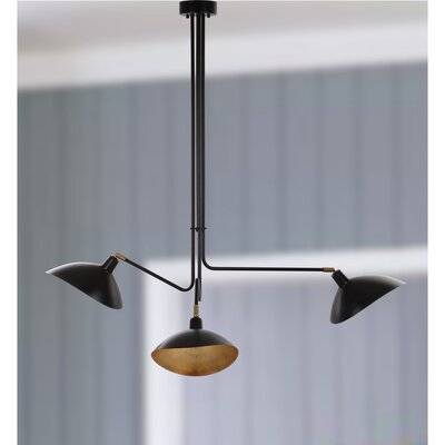 Utica Metal 3-Light Kitchen Island Pendant