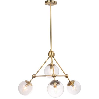 Vandling 4-Light LED Foyer Pendant