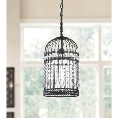 Annemarie Bird Cage 1-Light Foyer Pendant
