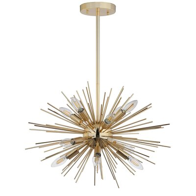 Volant 12-Light Geometric Pendant