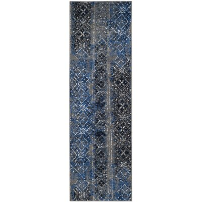 Norwell Silver Area Rug Rug Size: Runner 26 x 6