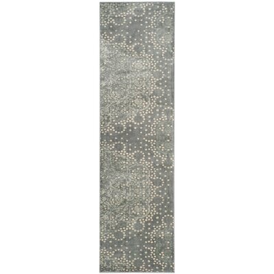 Stave Vintage Gray Area Rug