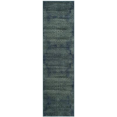 Avalon Vintage Light Blue Area Rug
