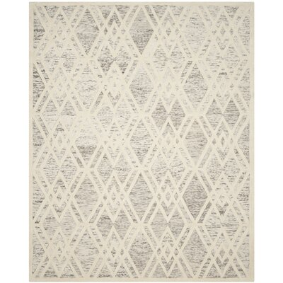 Fleischer Hand-Tufted Wool Light Brown Area Rug Rug Size: Rectangle 8 x 10