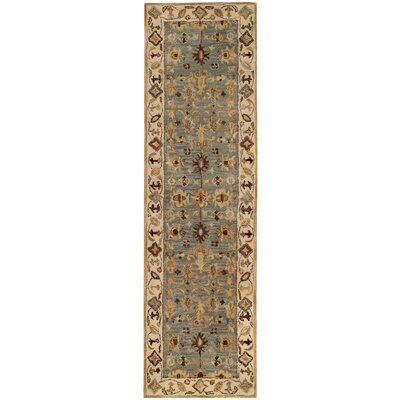Tinley Hand-Tufted Wool Beige Area Rug Rug Size: Runner 23 x 12