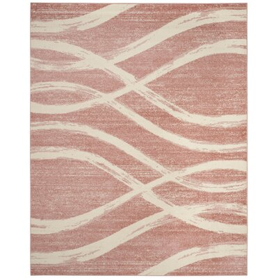 Marlee Rose Area Rug Rug Size: Rectangle 9 x 12