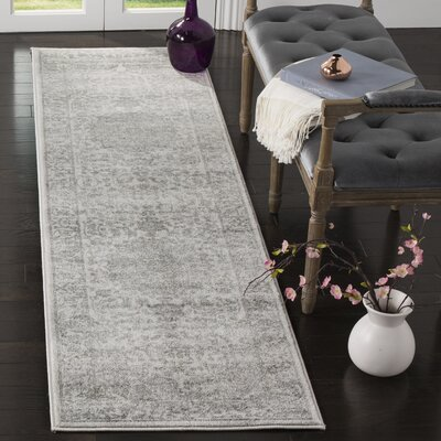 Fadrique Cream Area Rug Rug Size: Runner 23 x 12