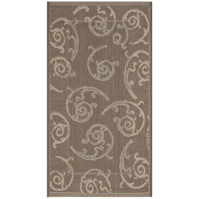 Hollandsworth Dark Beige Indoor/Outdoor Area Rug