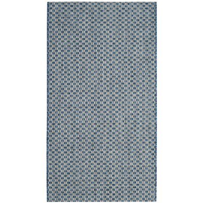 Hoeppner Blue Indoor/Outdoor Area Rug