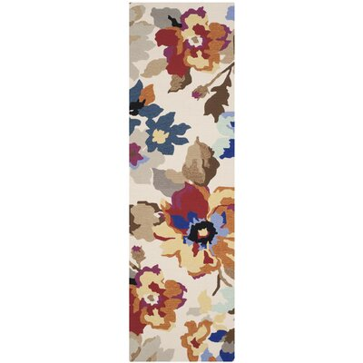 Adam Hand-Hooked Indoor/Outdoor Area Rug Rug Size: Runner 23 x 8