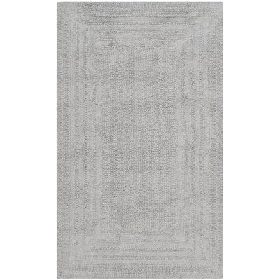 Ptolemy Cotton Light Gray Area Rug