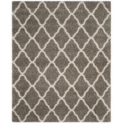 Hanaford Gray Area Rug Rug Size: Rectangle 9 x 12
