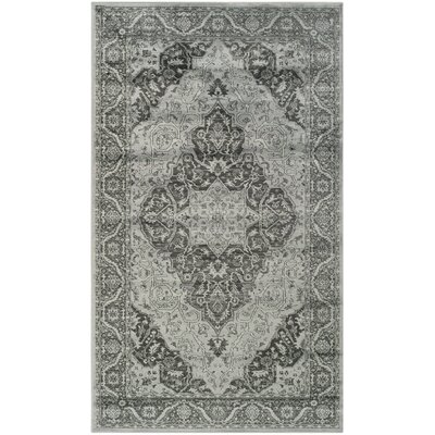 Mainville Gray/Black Area Rug