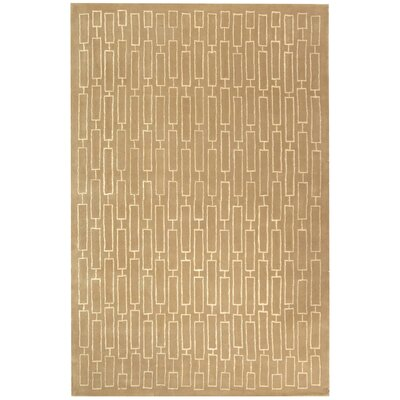 Scotchmann Hand Tufted Wool Tan Area Rug Rug Size: Rectangle 6 x 9