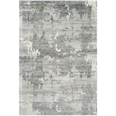 Ocellus Hand Knotted Charcoal Area Rug
