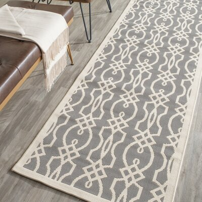 Sorento Cement Area Rug Rug Size: Runner 27 x 82