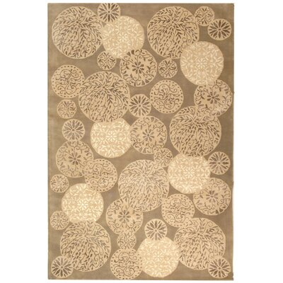 Sunny Hand Tufted Wool Parchment Area Rug Rug Size: Rectangle 56 x 86
