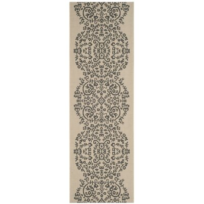 Joliet Tapestry Hickory Area Rug Rug Size: Rectangle 4 x 57